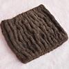 KLM-096 china factory wholesale hair towel brown color sports headband, SPA snood
