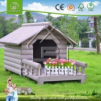 Classical Wooden Dog Cage