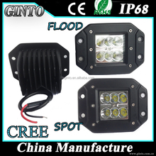 Jeep wrangler Rectangle LED Driving Light offroad led portable work light