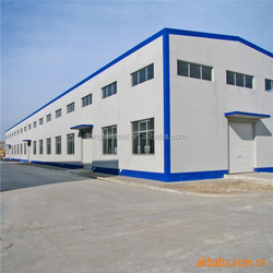 Light frame galvanized steel sructure construction warehouse steel buildings