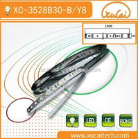 alibaba gold supplier 8mm wide flexible 5m led light strip