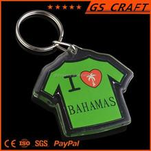 Nice fashion new design T shirt key chain