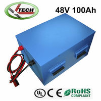 48V 100ah lifepo4 battery for golf cart/electric boat batteries