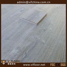 costo de gris pálido de roble de madera de deriva pisos de madera