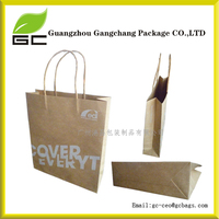 UK Stock Print any Logo or Image Kraft Paper Bag for Shoes
