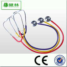 Fast selling! New type cheap diagnostic dual head chestpiece stethoscope with unique design for physical examination