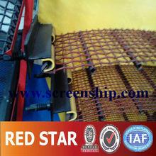 8mm coal plant plain weave crimped mesh / petroleum isolation mesh