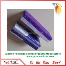2-in-1 PU pumice sponges foot calluse remover pumice stone