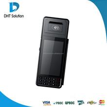 Tarjetas de débito / crédito terminal de pago, terminal pos de mano, sistema operativo Android ( DTPOD3385 )