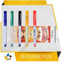 ballpoint banner pen for promotion,logo retractable banner pens,pull out pen wholesale in china