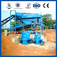 Factory Direct Sell Gold Panning Machine with Hopper