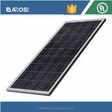 PV Solar Panel 95MW~115MW on Machine and Polycrystalline Material Solar Panel for RV