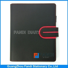 Cheapest high quality leather cover A5 notebook