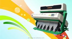 Vision recycle plastic color sorter, high reliability, multifunction and touch screen easy to use