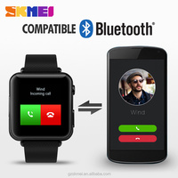 skmei original factory latest wrist watch mobile phone ,the price of smart watch phone in pakistan