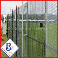 rubber coated chain link fence used chain link fence for sale factory