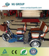200w 3 wheel cargo motorcycle with closed cabin tricycle for sale