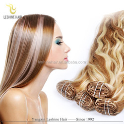 New Hotsale Good Feedback Brand Name 160g 180g 200g hair weft double drawn 24 inch