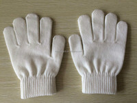 Zhejiang popular sale high quality white magic stretch gloves
