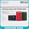 HIGH CAPACITY USB power station 8400mah for iphone/ipad/ipod/samsung