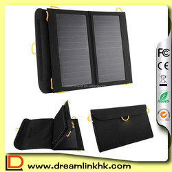 New Folding solar charger charging bag usb port 13w high efficiency outdoor solar panel charger for Camping Emergency Usage