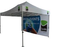 Aluminum gazebo for outdoor advertising events
