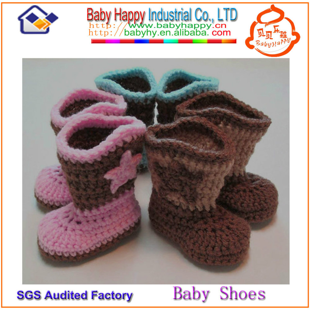 Hand Crochet : ... Hand Crochet Knitting Baby Booties,Hand Crochet Knitting Baby Booties