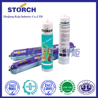 Fire-proof silicone sealant, fabric bond fabric adhesive