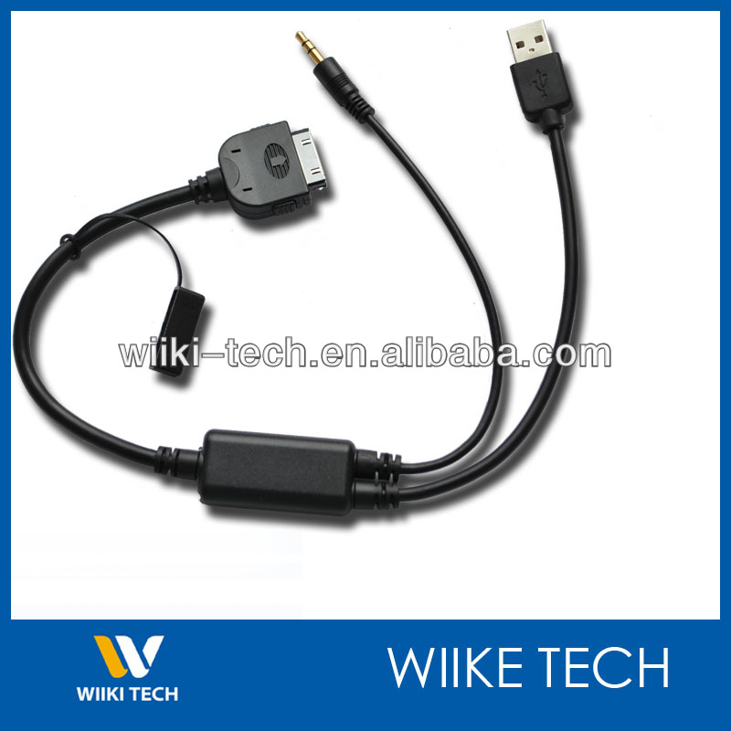 Nova Marca Para Bmw Mini Cabo Ipod Com Usb Interface De