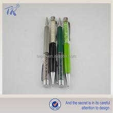 Alibaba Ballpoint Pen Idea Product Metal Pen Genuine Swarovski Crystal Pen