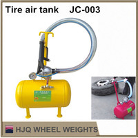 Tire air tank