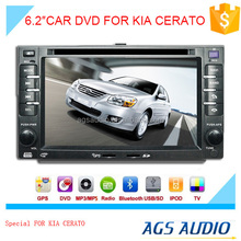 touch screen car dvd player for with audio system/mp3/gps for KIA CERATO