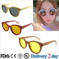 high quality 2015 handmade wood sunglasses designer bamboo wooden polarized sunglasses gafas wood bamboo clubmaster sunglasses