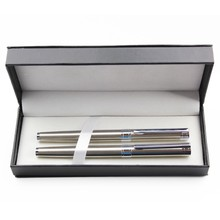 JY1029 business gifts twin pen set/ballpen with roller pen