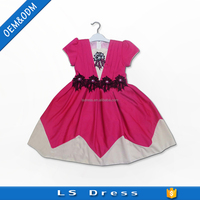 12 year old children gown kids princess party dress
