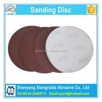 125mm Red Aluminum Oxide Sanding Discs with Velcro for Sander