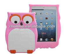 animal silicone rubber cover case for ipad mini 2
