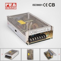 ce approved 200w 24v 8 amp two way radio regulated power supply / 220v 24v 8a dc transformer manufacturer