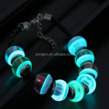 2015 glow in dark slap bracelet glow in dark bracelet glow bracelet