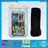 wholesale pvc custom waterproof bag for phone with armband and string