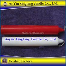 wholesale white stick candle long burning time yankee wax candle producer