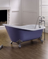 NH-1002-2 elegant Slipper Clawfoot cast iron used cast iron bathtubs for sale