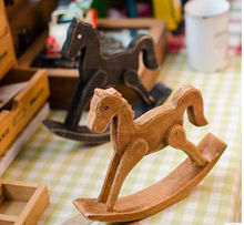 Carving Wooden Handmade Carousel decoration in sale