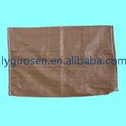 PP brown bag PP sand bag/ PP woven bags for sand