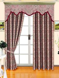 2014 latest design Fire retardant lined cafe curtains