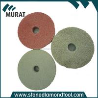 Diamond Sponge Floor Polishing Pads with Velcro Backed for Granite Marble Concrete