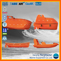 Marine Total Enclosed/ Free Fall Lifeboat, FRP Lifeboat/ Life Boat/ Fast Rescue Boat for Sale, Manufacturer's Price