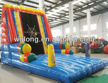 inflatable bouncer slide, inflatable slip and slide