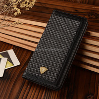 Latest Tweed Fabric & PU Leather Folio Case For Samsung s6 Leather Case With Cardholder PU For Samsung Galaxy S6 Cell phone Case