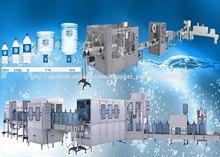 Completa linea Máquina Llenadora de Botellas de Agua de 5 Galones 3gallones